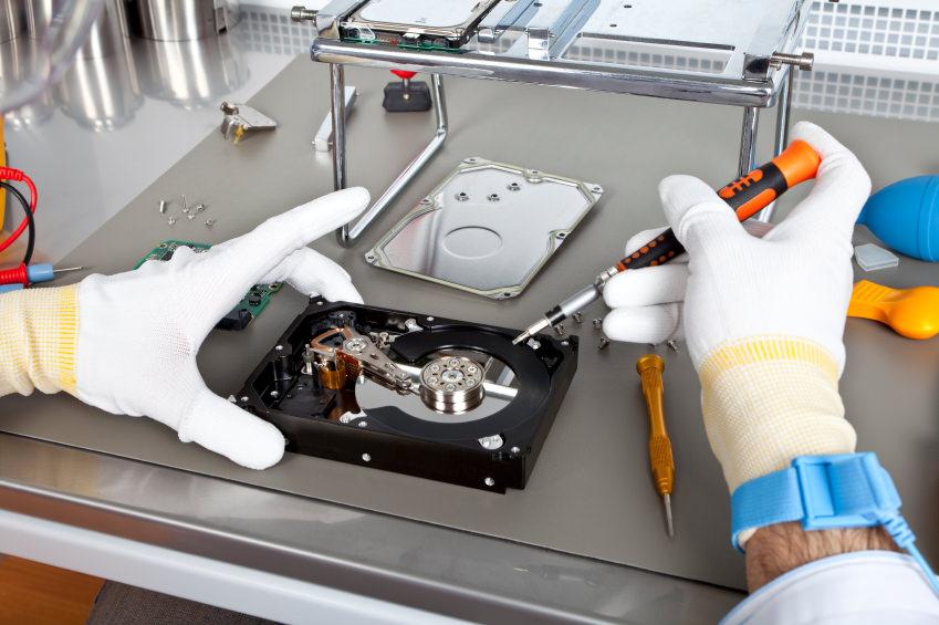 Восстановление данных с жестких дисков HDD в СПб
